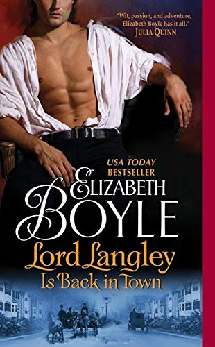 9780061783517: Lord Langley Is Back in Town (The Bachelor Chronicles)
