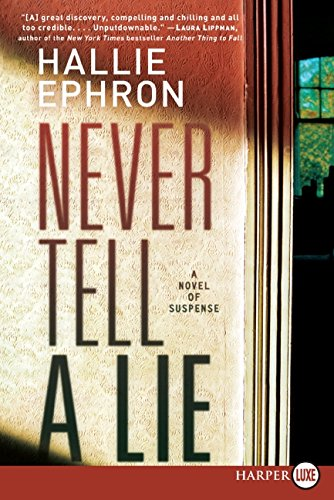 9780061787416: Never Tell a Lie LP: A Novel of Suspense