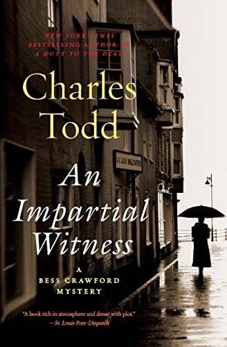 9780061791796: An Impartial Witness: A Bess Crawford Mystery (Bess Crawford Mysteries)
