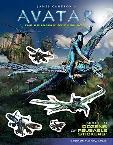 9780061801273: James Cameron's Avatar: The Reusable Sticker Book