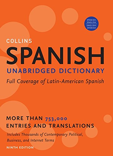 9780061808258: Collins spanish unabridged dictionary, 9th edition