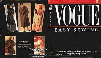 9780061811289: Vogue Easy Sewing