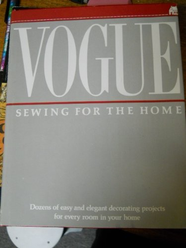 9780061811296: Vogue Sewing for the Home