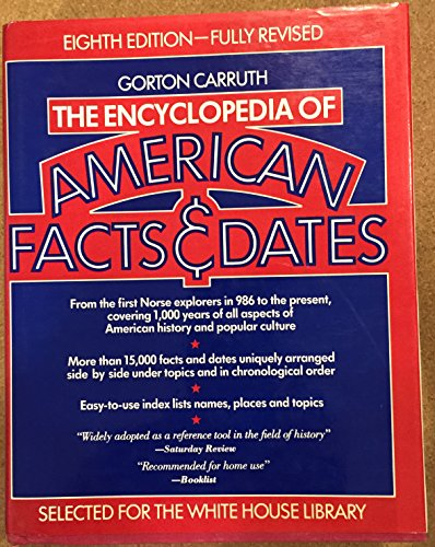 9780061811432: Encyclopaedia of American Facts and Dates