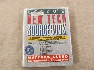 9780061815096: Lesko's New Tech Sourcebook