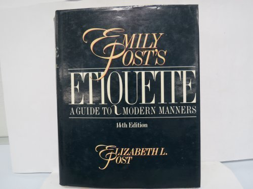 9780061816840: Emily Post's Etiquette