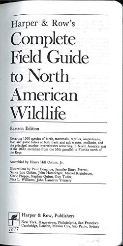 9780061817151: Harper & Row's Complete Field Guide to North American Wildlife, Western Edition