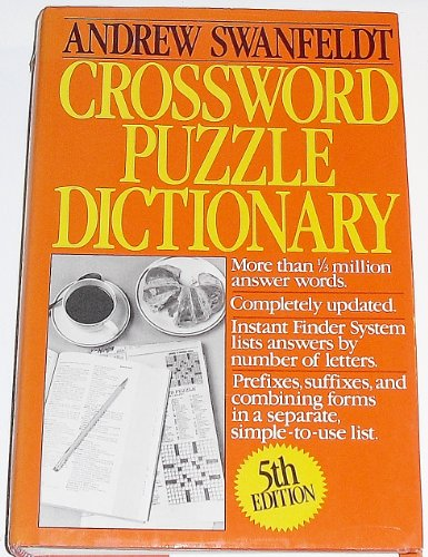 9780061818615: Crossword Puzzle Dictionary