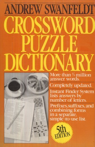 9780061818622: Crossword Puzzle Dictionary