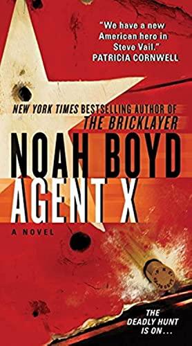 9780061827037: Agent X (Steve Vail Novels)
