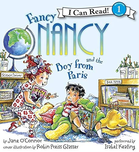 9780061840555: Fancy Nancy and the Boy from Paris Book and CD (I Can Read Book 1)