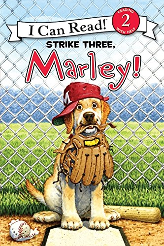 9780061853869: Strike Three, Marley! (I Can Read Marley - Level 2)