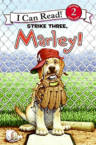 9780061853876: Strike Three, Marley! (I Can Read Marley - Level 2 (Hardback))
