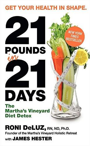 9780061864148: 21 Pounds in 21 Days: The Martha's Vineyard Diet Detox