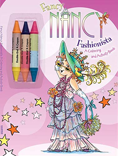 9780061882661: Fancy Nancy: Fashionista: A Coloring and Activity Book