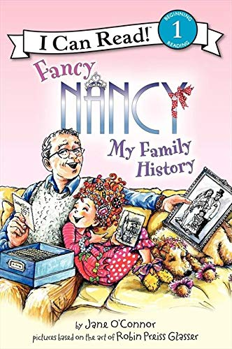 9780061882715: Fancy Nancy: My Family History (I Can Read Books: Level 1)