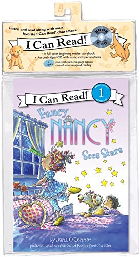 9780061882739: Fancy Nancy Sees Stars Book and CD (I Can Read Level 1)