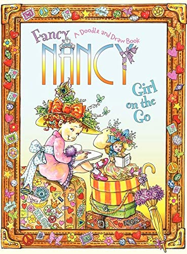 9780061882821: Fancy Nancy: Girl on the Go: A Doodle and Draw Book