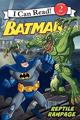 9780061885211: Batman Classic: Reptile Rampage (I Can Read Books: Level 2)