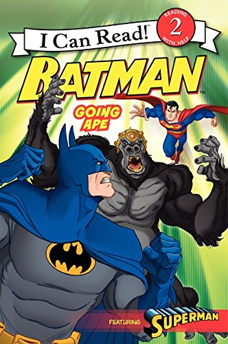 9780061885228: Batman: Going Ape (I Can Read Books: Level 2)