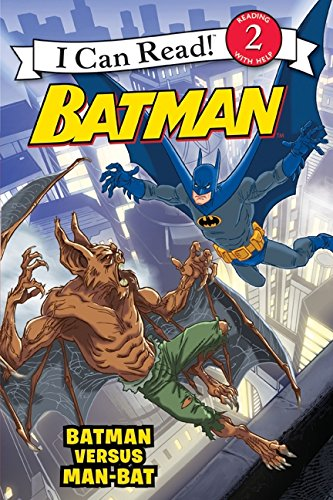 9780061885235: Batman Versus Man-Bat (I Can Read Books: Level 2)