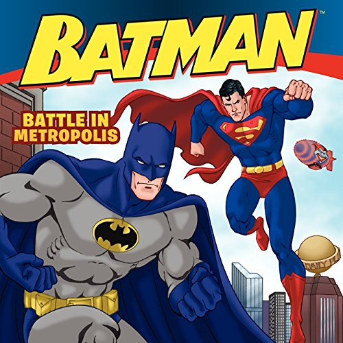 9780061885372: Battle in Metropolis (Batman (Harper Festival))