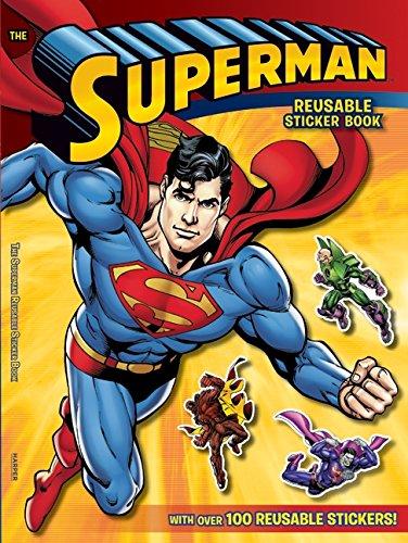 9780061885389: Superman Classic: The Superman Reusable Sticker Book