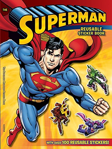 Superman Classic The Superman Reusable Sticker Book