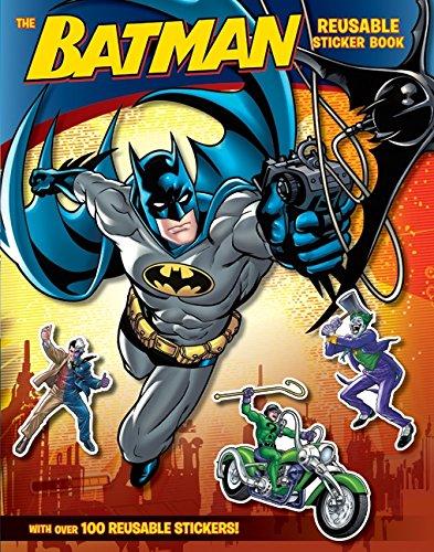 9780061885396: Batman Classic: The Batman Reusable Sticker Book