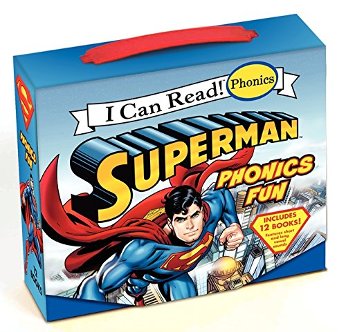 9780061885419: Superman Classic: Superman Phonics Fun (Includes 12 Books) (My First I Can Read)