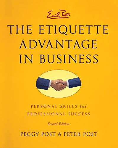 9780061917424: Etiquette Advantage in Business Intl, The