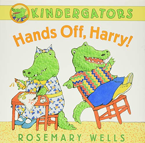 9780061921124: Hands Off, Harry! (Kindergators)