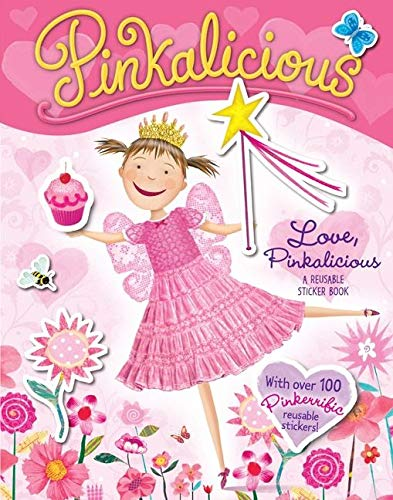 9780061927317: Pinkalicious: Love, Pinkalicious: A Reusable Sticker Book