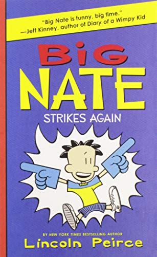 9780061944369: Big Nate Strikes Again
