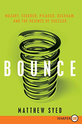 9780061946240: Bounce: Mozart, Federer, Picasso, Beckham, and the Science of Success
