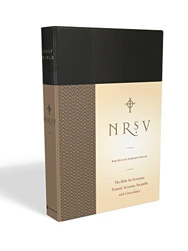 9780061946516: NRSV Standard Bible (black)