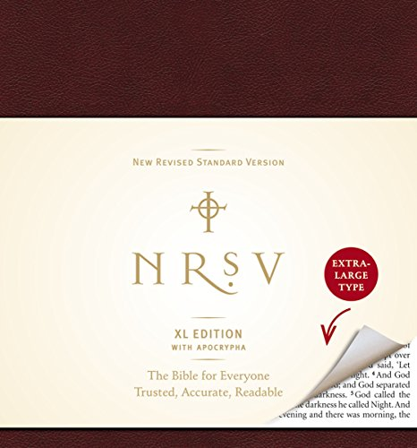 9780061946523: NRSV XL with Apocrypha (burgundy)
