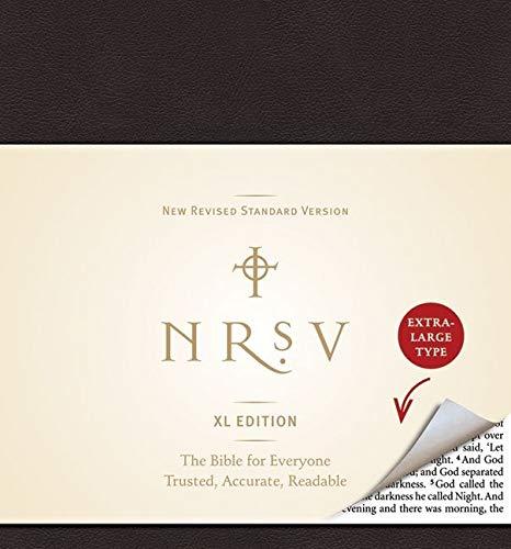 9780061946530: NRSV, XL Edition, Bonded Leather, Black
