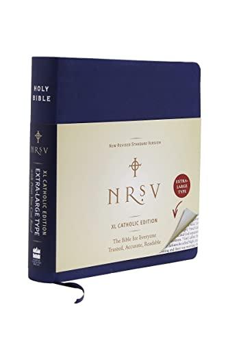 9780061946547: NRSV XL Catholic Edition (navy)