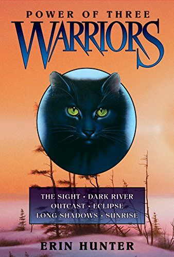 9780061957055: Warriors: Power of Three: Sunrise, Long Shadows, Eclipse, Outcast, Dark River, and the Sight