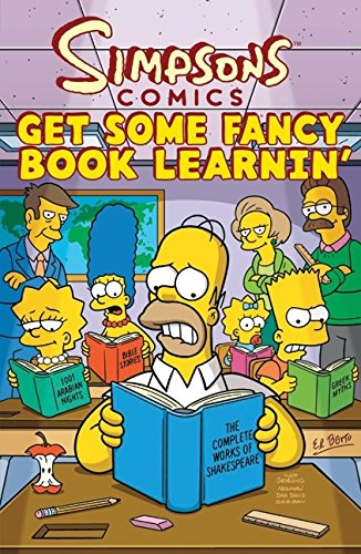 9780061957871: Simpsons Comics Get Some Fancy Book Learnin' (Simpsons Comic Compilations)
