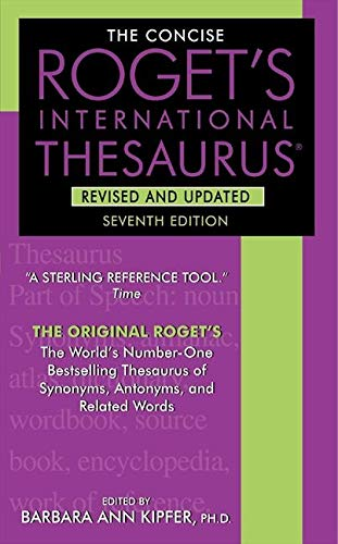 9780061961076: The Concise Roget's International Thesaurus