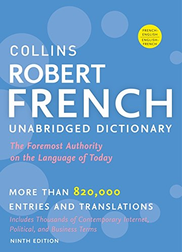 9780061962998: Collins Robert French Unabridged Dictionary, 9th Edition (Collins Language)