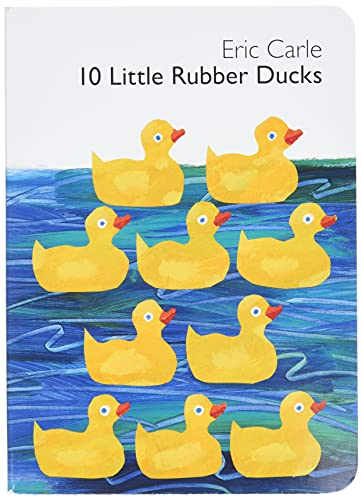 9780061964282: 10 Little Rubber Ducks Board Book (World of Eric Carle)