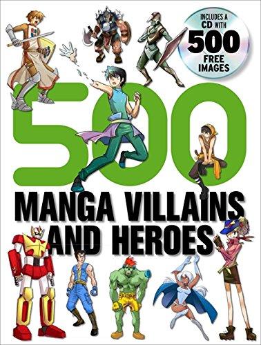 9780061968808: 500 Manga Villains and Heroes
