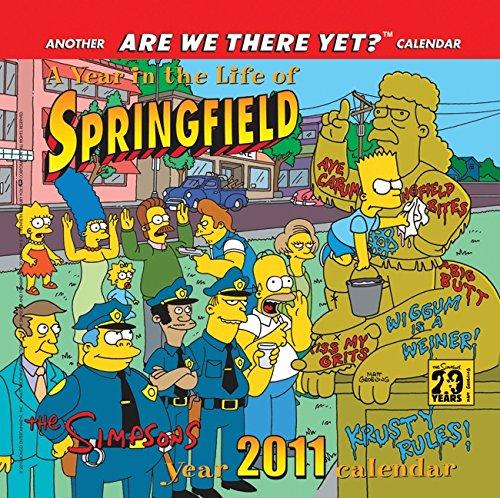 The Simpsons 2011 Mini Calendar: Groening, Matt