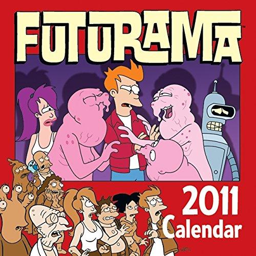 9780061978029: Futurama 2011 Wall Calendar