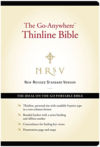 9780061979170: NRSV – The Go-Anywhere Thinline Bible [Black]