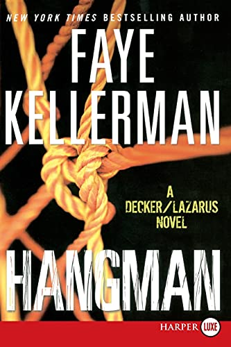 9780061979323: Hangman LP: A Decker/Lazarus Novel (Decker/Lazarus Novels)