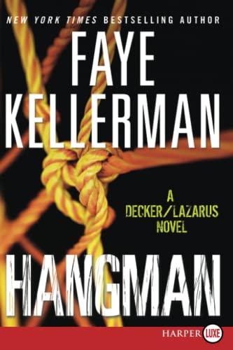 9780061979323: Hangman LP: A Decker/Lazarus Novel (Decker/Lazarus Novels)